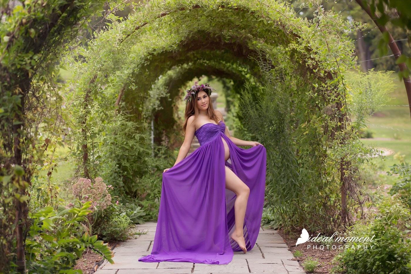 70+ Dark Green Maternity Dress - Dark Purple Maternity Bridesmaid ...