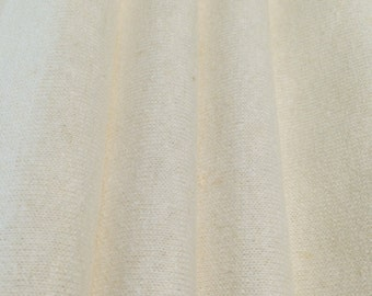 Natural 7oz Hemp and Organic Cotton Jersey By the Yard
