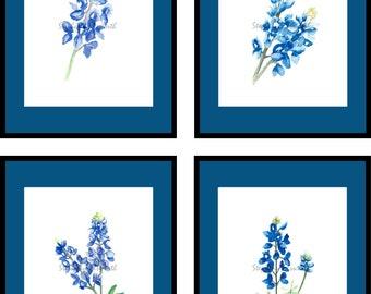 texas wildflowers vector clip art rh etsy com bluebonnet clipart bluebonnet clipart free