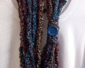 Multi-colored Scarf/Necklace