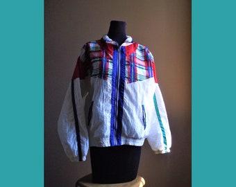 Vintage wind breaker jacket