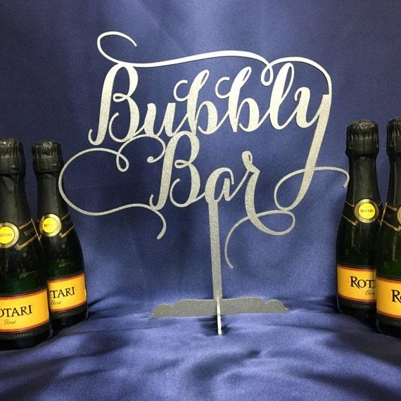 Bubbly, Mimosa Bar, Bar Sign, Champagne Table Decor, Bubbly Bar Decor, Bubbly Bar Sign, Bubbly Bar Wedding, Bar Cocktail Sign, Bubbly Bar