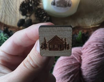 Wild in the Woods Pin