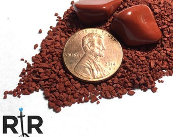 Crushed Red Jasper Medium Sand - 100% Natural Stone Without Fillers