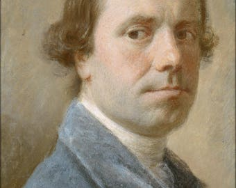 Poster, Many Sizes Available; Allan Ramsay Allan Ramsay, 1713 1784. Artist Self Portrait