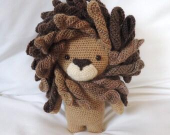 Crochet pattern Boris the lion - Amigurumi pattern