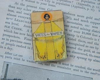 Magnet Votes for Women Art Deco image