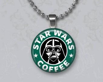 Star Wars Starbucks Pendant or Key Chain