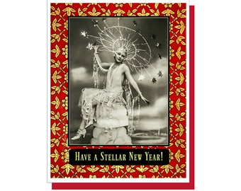 Have a Stellar New Year! , Holiday Card,  New Year's Card