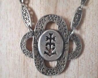 Necklace Style antique silver Camargue