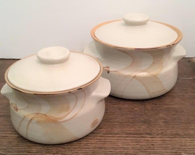 Mid-century Larbert Pottery Tureens