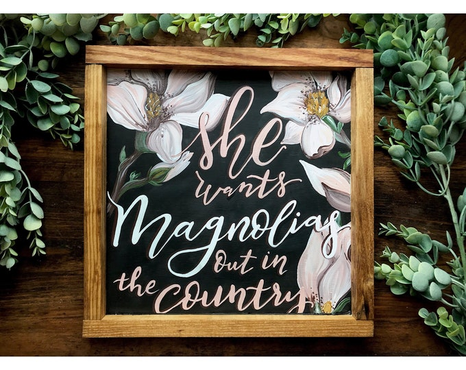 Marry Me- Thomas Rhett. Lyric Sign
