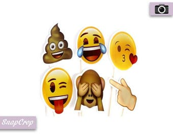 Emoji Mask Photo Booth Prop