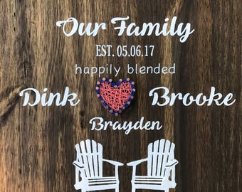 Wedding Guest Book -  wooden guest sign in
