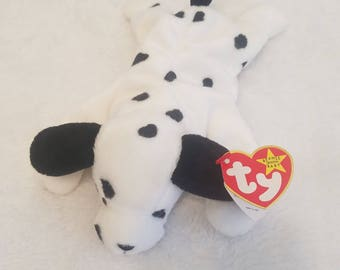 Ty Beanie Baby DOTTY The Dalmatian Dog EXCELLENT CONDITION