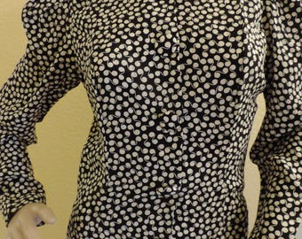 Vintage 1990's 100% silk dress size 4, perfect for office, evening, wiggle dress, below knee