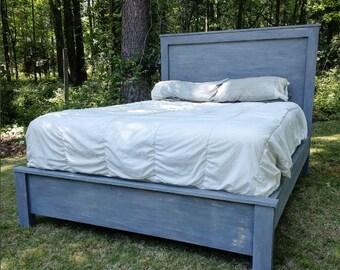 Platform bed - custom made to order - modern bed