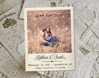 """Wedding Save The Date Magnets - JavesHill  Photo Personalized 4.25""""x5.5"""""""