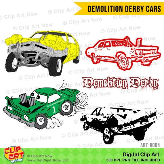 Demolition Crashing Cars Svg Files