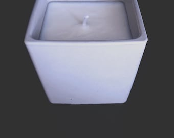 Concrete Soy Candle · Concrete Decor · Soy Wax Candle · Essential Oils