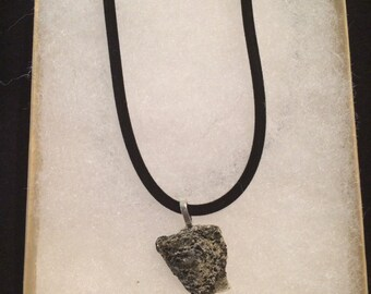 Recycled Granite necklace