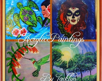 Acrylic Paintings by Jacklyn
