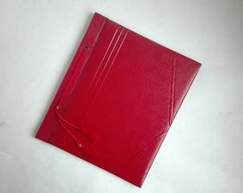 Vintage Dutch Empty Postcard Album, Collection,100 cards Capacity,Made in Holland, 1950's