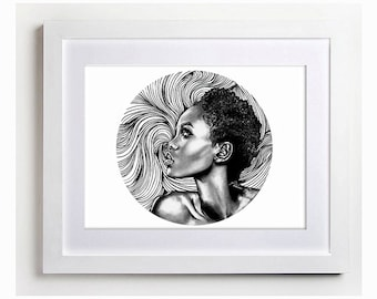 Original Drawing - The Beauty Within