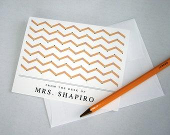 Teacher Gift  Teacher Note Cards Teacher Christmas
