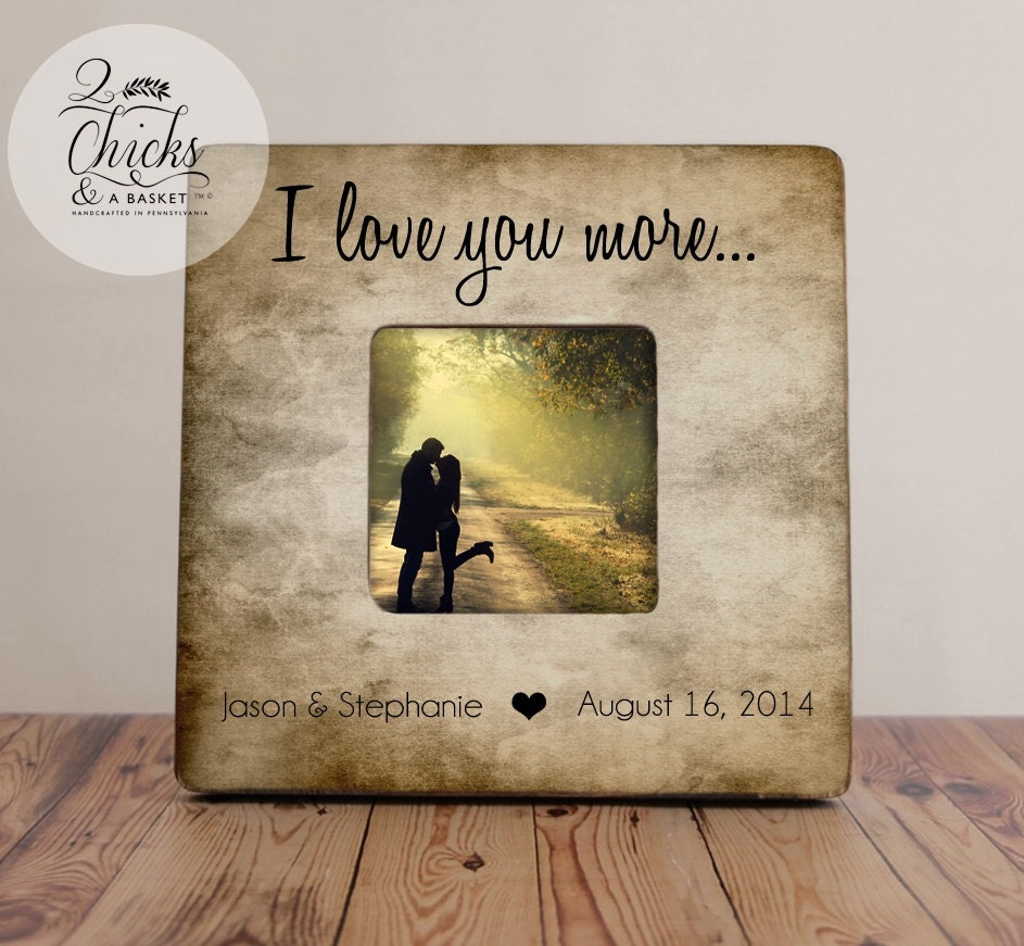 Funky i love you frame illustration picture frame ideas i love you more picture frame rustic picture frame great negle Images