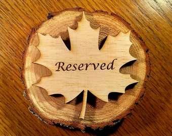 Reserved Signs For Weddings Or Customized Seating Sign