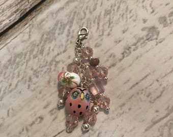 Travelers notebook journal or planner chunky dangle charm
