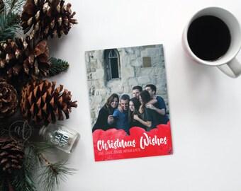 Christmas Card - Christmas - Template - holiday card - photo card - photo christmas card - photo template - christmas card - holiday card