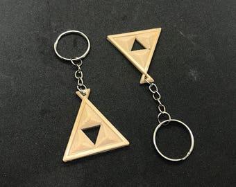 Legend of Zelda Triforce Key Chain | Keychain | Legend of Zelda | Zelda | Hyrule | Triforce | Tri-force | Emblem | Tri | Force |