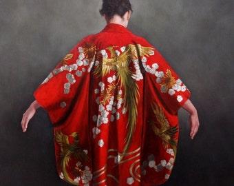 Scarlet Kimono by Stephanie Rew - Limited edition Giclee Print of 95
