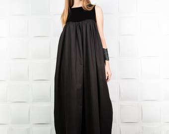 Sexy dress, Wedding dress, Bridesmaid dress, Long loose dress, Long plus size dress, Woman loose dress, Woman oversize dress/D0062