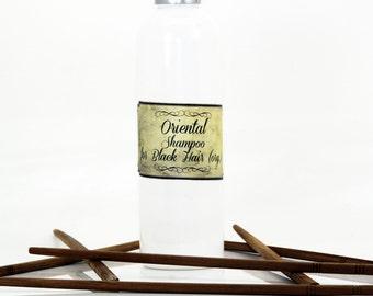 Oriental shampoo for black hair, colouring shampoo, natural shampoo, organic shampoo