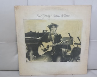 """Neil Young- """"Comes A Time"""" vinyl record"""