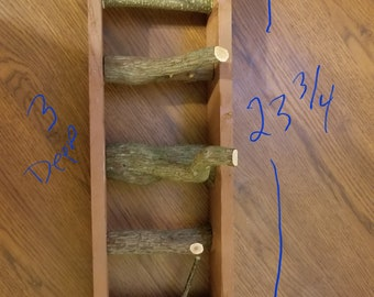 Rustic Wall Hanging Tree Branch Coat Rack
