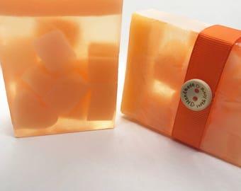 Soap - Lemon Soap, Coconut Soap, Mandarin Soap, Handmade Soap, Citrus Soap, Bath and Beauty, Natural Soap, Vegan Soap, Organic Soap, Gift