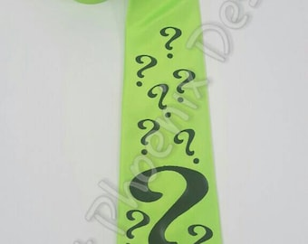 The Riddler Mens NeckTie