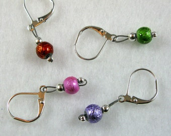 Multi-Colored Removable Stitch Markers - Item No. 864