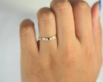 Diamond Wedding Band, Diamond Wedding Ring, Diamond Engagement Band, Diamond Engagement Ring, Unique Diamond Ring