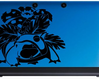 Venusaur Decal for 3DS, 3DSXL, and More
