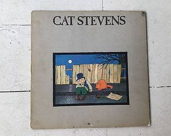 Cat Stevens Teaser and the Firecat LP Record 1971 Folk music recorded audio