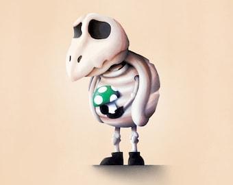 Mario Print / Dry Bones
