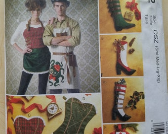 McCall's Crafts Aprons and Stockings pattern