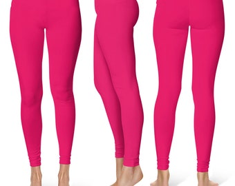 Ruby Leggings, Mid Rise Waist Womens Yoga Pants, Yoga Workout Clothes