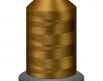gold thread, quilting thread, sewing machine thread, glide no 40, Tex 27, sewing thread, 1000m cone,Antique thread, polyester thread