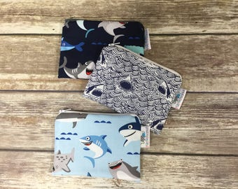 Reusable Snack Bag, Reusable Zipper Bag, Reusable Sandwich Bag, Zipper Pouch, Reusable, Shark Snack Bag, Lunch Bag, Reusable Bag, Sharknado